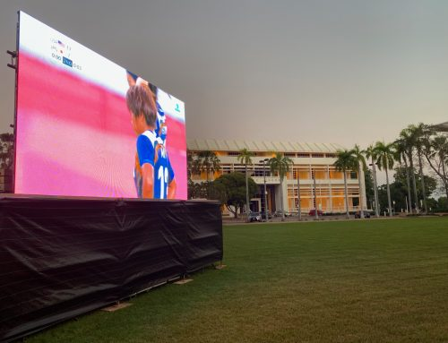 LED SCREENS in FEDERATION SQUARE